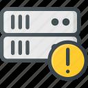 allert, data, database, server, store