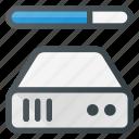 bandwidth, data, database, server, store