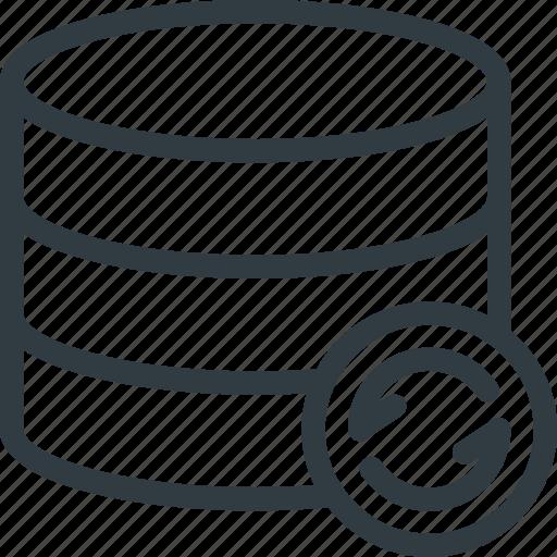 Data, database, refresh, server, storage icon - Download on Iconfinder