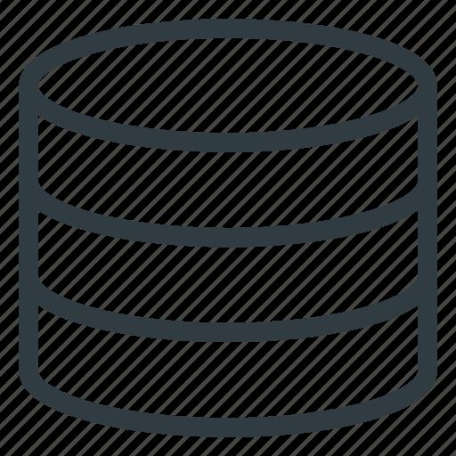 data, database, server, store icon