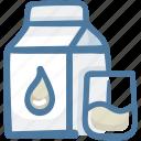 bottle, cup, drink, food, milk