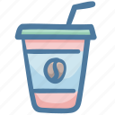 drink, fruit, juice, orange juice, summer icon
