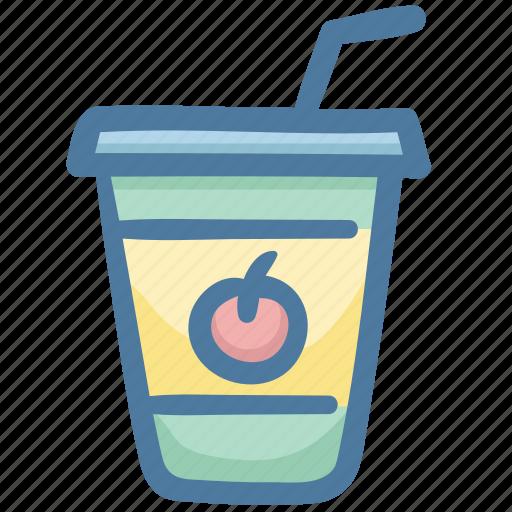 drink, fruit, juice, orange juice, summer icon