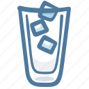 beverage, cold, cool, drink, ice, ices, water icon