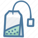 bag, coffee, drink, hot, tea, tea bag icon