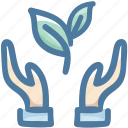 cooking, food, hands, healthy, vegetable icon