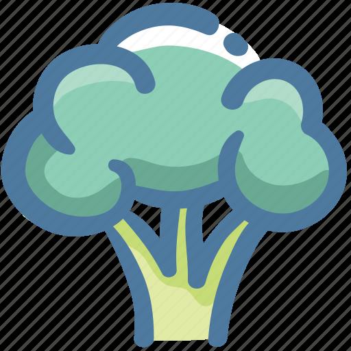 Broccoli, cauliflower, cauliflower nutrition, diet vegetable, healthiest vegetable icon - Download on Iconfinder