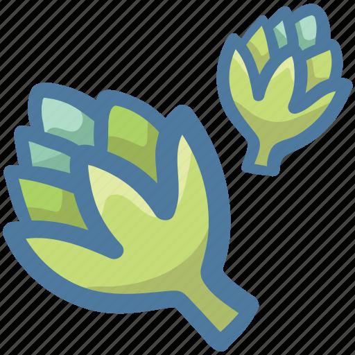 Broccoli raab, cruciferous vegetable, green vegetable, rapini, rapini rabe icon - Download on Iconfinder