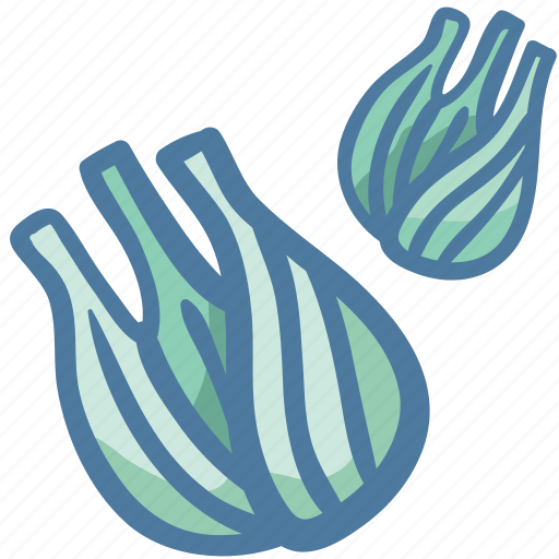 carrot family vegetable, fennel, fennel leaves, food, healthy vegetable, vegetable icon