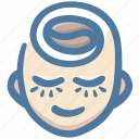 coffee, love, relax, rest, smile icon
