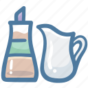 bottle, coffee, ketchup, milk, sweet, syrup icon