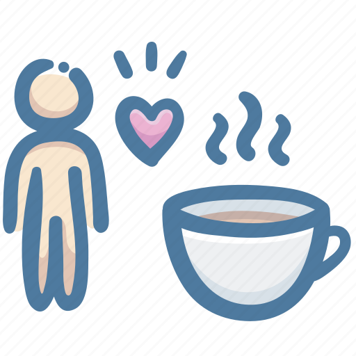 coffee, cup, favorite, hot, love, lover icon