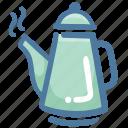 barista, barista tools, coffee, coffee supplies, equipment, moka pot icon