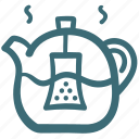 drink, hot, pitcher, relax, tea, tea pot icon