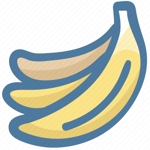 Banana, bananas, food, fruit, grocery, healthy icon - Download on Iconfinder