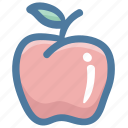 apple, food, fruit, green apple, red apple, vegetable icon