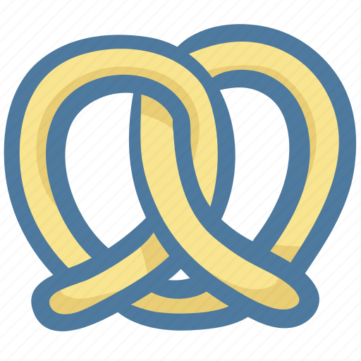 Food, new york, pretzel, snack, street food icon - Download on Iconfinder