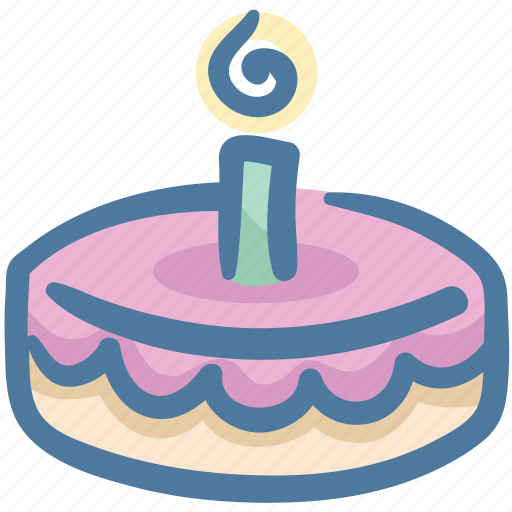 Birthday, birthday cake, cake, cake decorating, food, party icon - Download on Iconfinder
