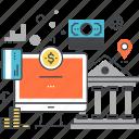 bank, banking, digital, finance, internet, money, online