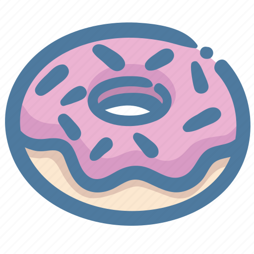 Dessert, donut, doughnut, fat, sweets icon - Download on Iconfinder