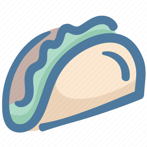 burrito, eat, fast food, food, taco icon
