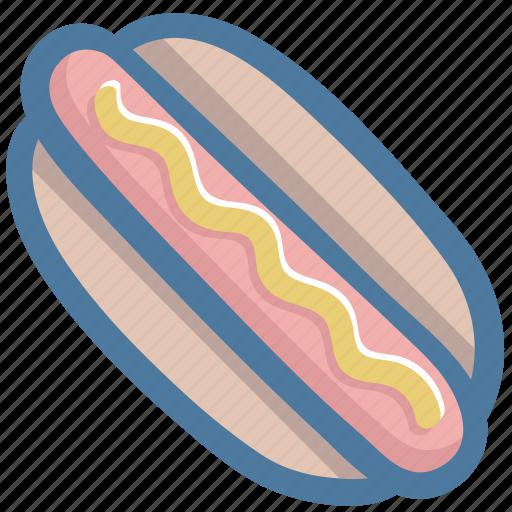 Food, dog, fast, hot, hotdog icon - Download on Iconfinder