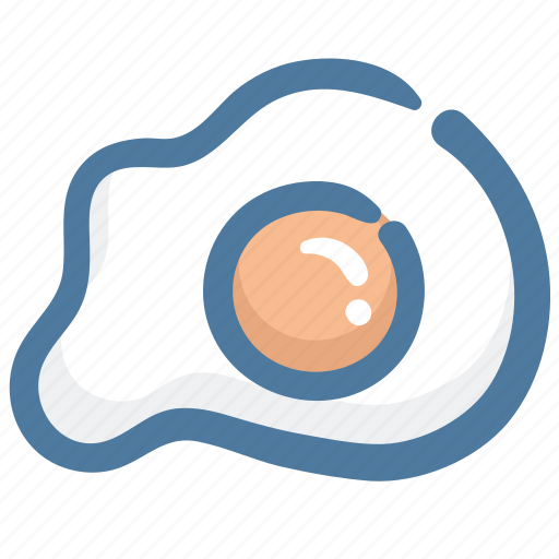 Breakfast, egg, eggs, food, fried egg icon - Download on Iconfinder