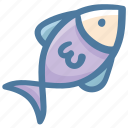 fish, fishing, food, sea, sea creature icon