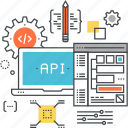 api, app, application, coding, development, program, software