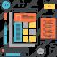 app, application, coding, development, program, software, web icon