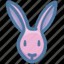 bunny, celebration, decoration, fauna, food, rabbit