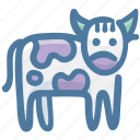 animal, beef, bull, cow, farm, food icon