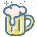 alcohol, beer, drink, glass, party icon