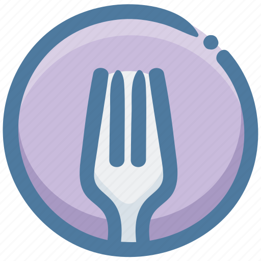 delicious, food, fork, recipes, restaurant icon