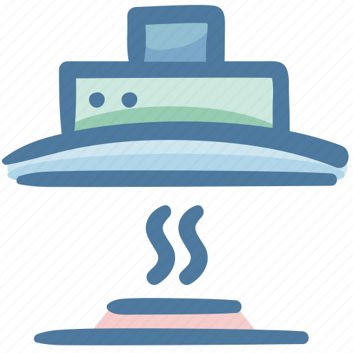 food, fume hood, furniture, kitchen, kitchen furniture, oven range icon