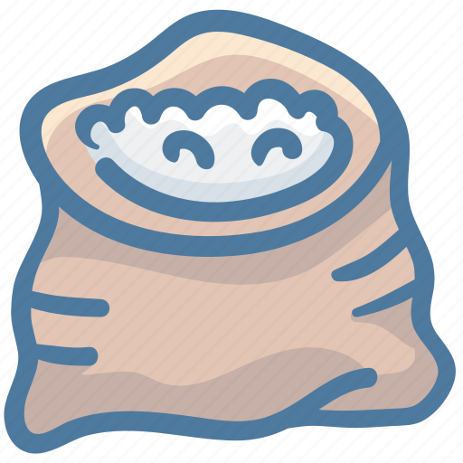 Food, package, rice, sack, seasoning, spice icon - Download on Iconfinder
