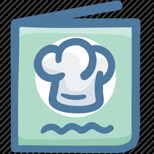 Cooking, cuisine, food, menu, menu book, recipe book icon - Download on Iconfinder