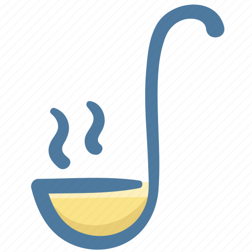 Dipper, food, ladle, small spoon, spoon, tool icon - Download on Iconfinder