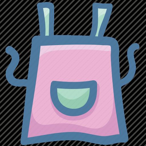 Apron, canvas apron, food, kitchen, lense, magnifier icon - Download on Iconfinder