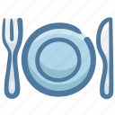 dish, food, fork, knife, restaurant, silverware
