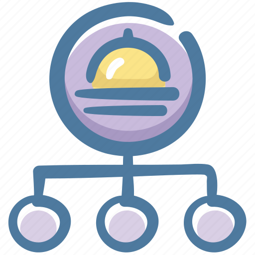 delivery, food, order, restaurant, service icon