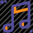 music, musician, partiture, sheet icon