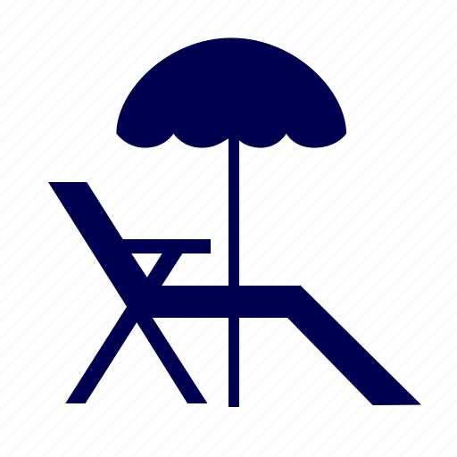 beach, sand, travel, umbrella, vacation icon