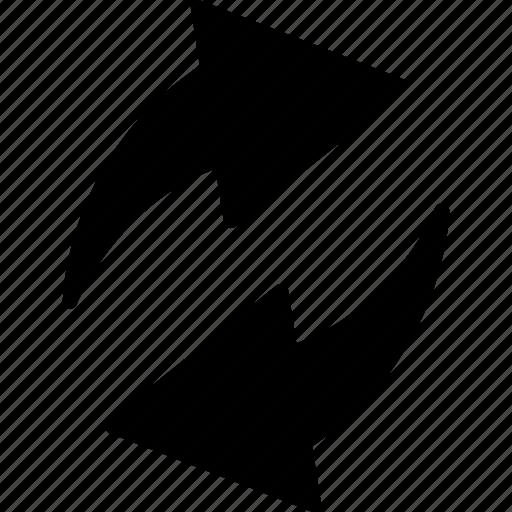 arrow, delete, recycle, refresh, reload, sync icon