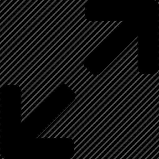 arrow, exapand, zoom icon