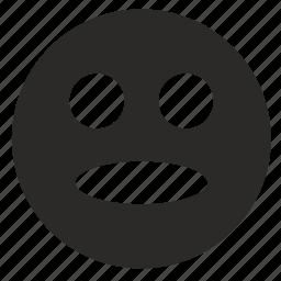 amazing, face, shock, smile icon