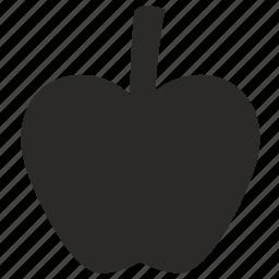 apple, eat, ecology, food, fruit, plant icon