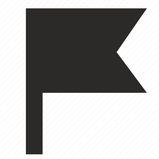 flag, geo, point, position, target icon