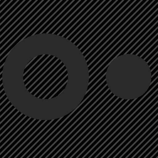 circle, round, target, ui icon