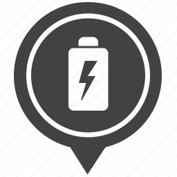 battery, charge, charging, electricity, geo, pointer icon